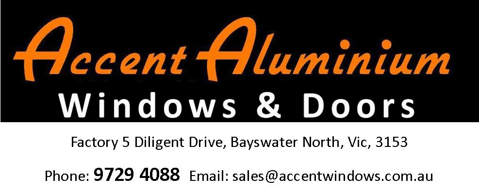 Accent Windows and Doors Logo Big with Address