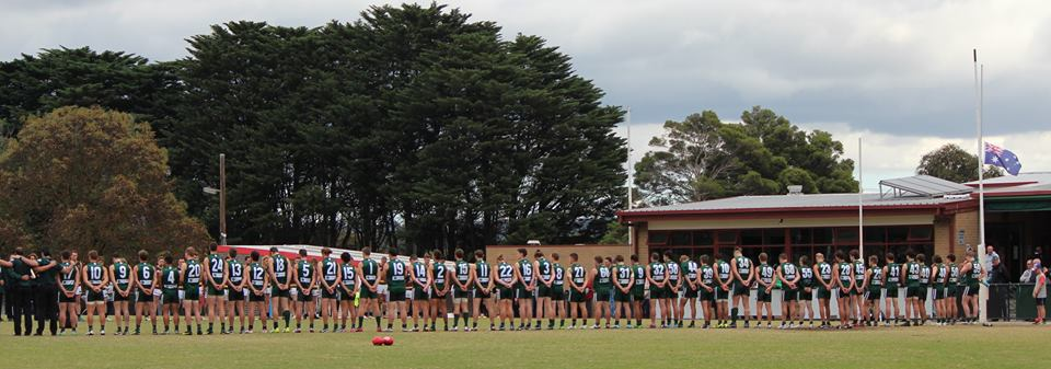 WSFC Line up for ANZAC Game 2016