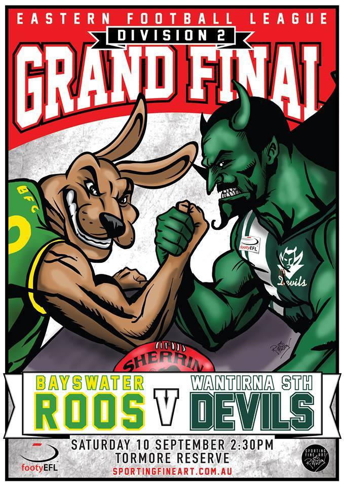 EFL 2nd Div Grand Final 2016
