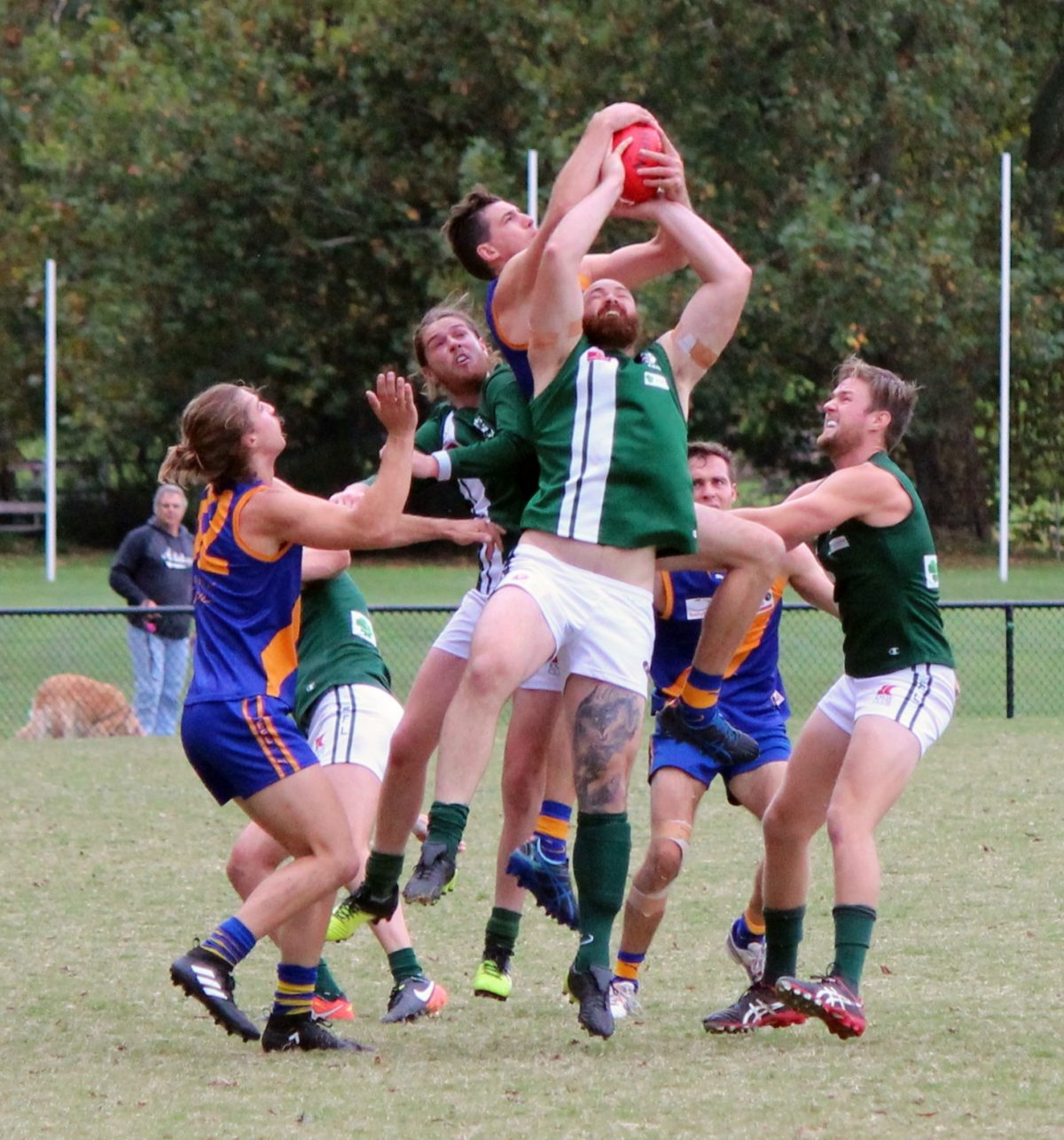 All sides lost to Lilydale