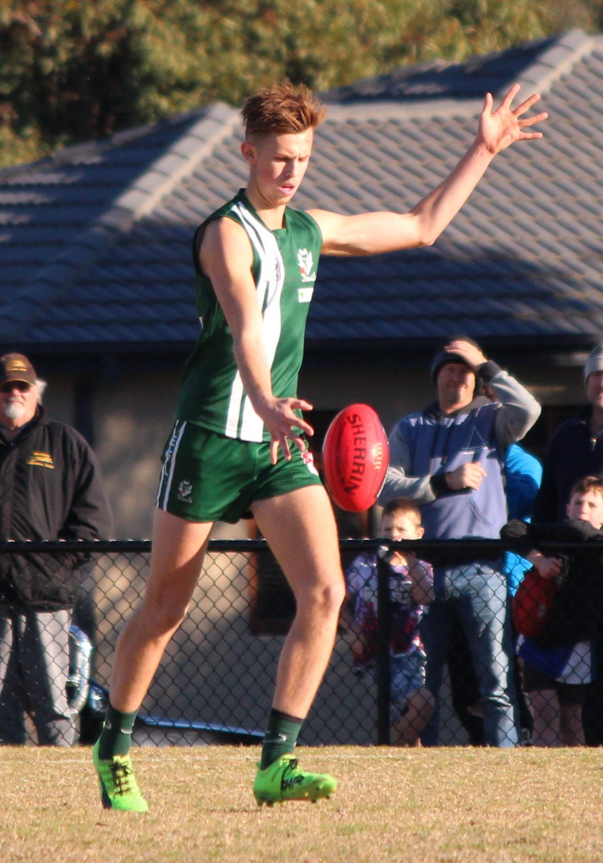 Luke Grima – 1st Senior game